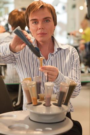Окрашивание волос Inspire в салоне красоты Alexander Utkin